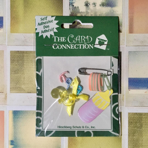 Craftime Card Connection Baby Embellishments